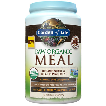 Picture of Raw Organic Meal (Chocolate) 1017g by Garden of Life