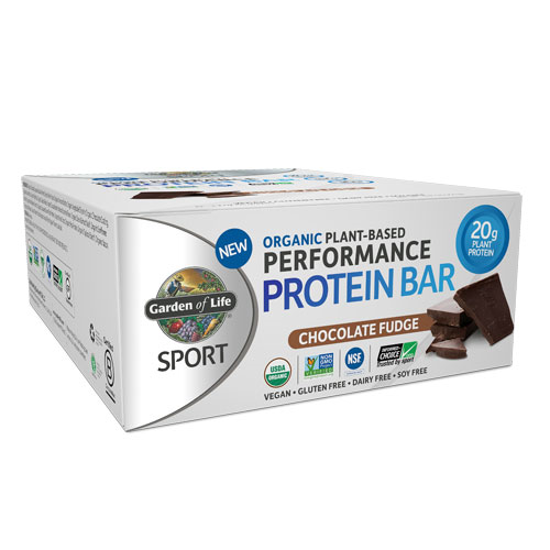 Picture of Sport Organic Performance Protein Bar (Chc. Fudge) 12ct, GoL