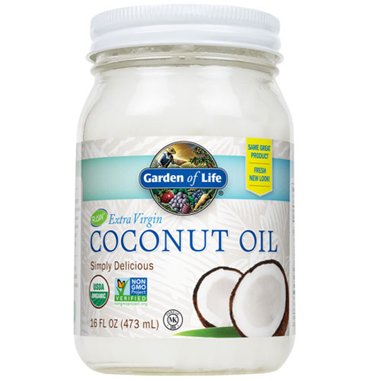 Picture of Organic Coconut Oil 16 oz. by Garden of Life