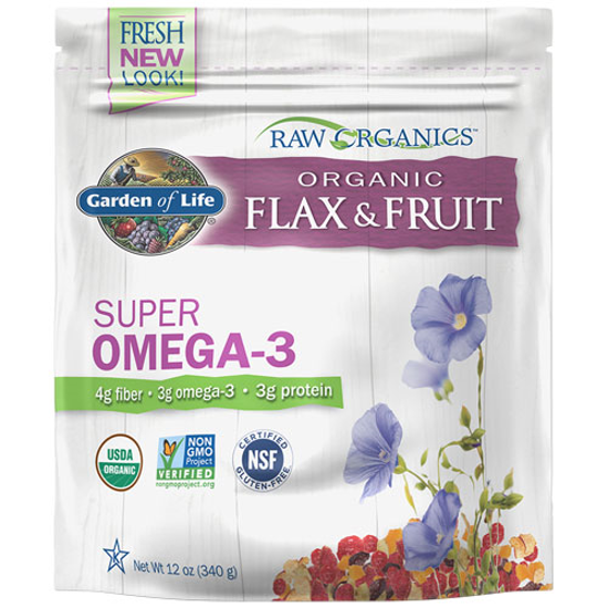 Picture of Raw Organic Flax Seed & Antioxidant Fruit 12 oz. by GoL
