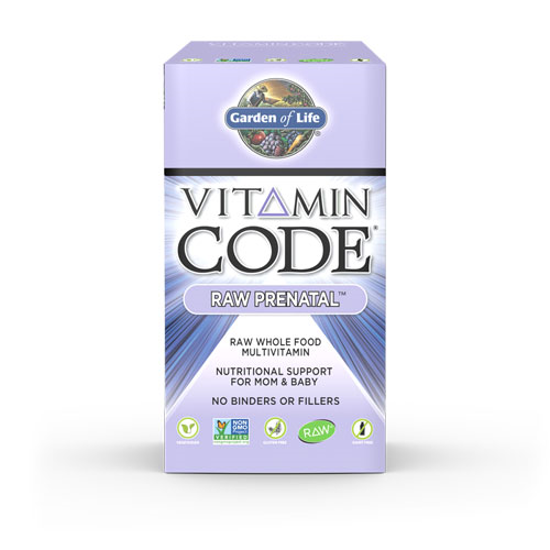 Picture of Vitamin Code Raw Prenatal 180 Caps by Garden of Life