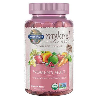 Picture of mykind Organics Women Multi Gummies 120's by Garden of Life