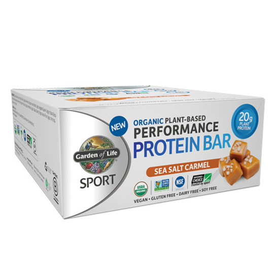Picture of Sport Organic Performance Protein Bar (Caramel) 12ct, GoL