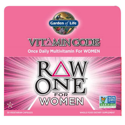 Picture of Vitamin Code Raw One for Women 30 Caps by Garden of Life