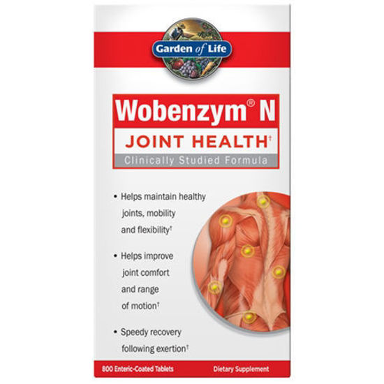 Picture of Wobenzym N 800 Tabs by Garden of Life