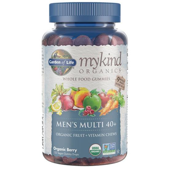 Picture of mykind Organics Men's 40+ Multi Gummies 120's by GoL