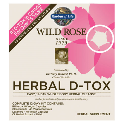 Picture of Wild Rose Cleanse Kit by Garden of Life