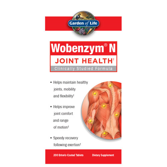 Picture of Wobenzym N 200 Tabs by Garden of Life
