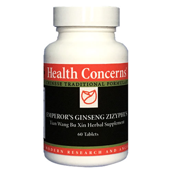 Picture of Emperor's Ginseng Zizyphus 60 tabs, Health Concerns