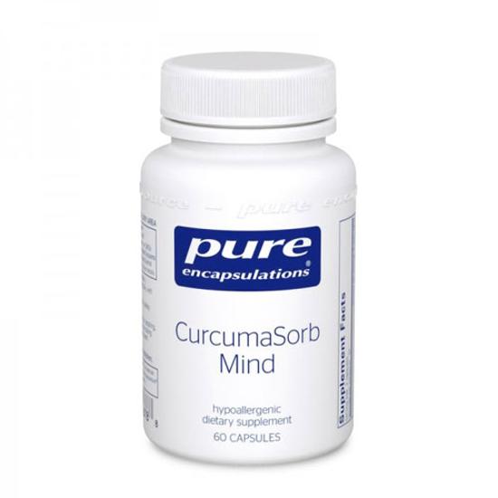 Picture of CurcumaSorb Mind 60's, Pure Encapsulations