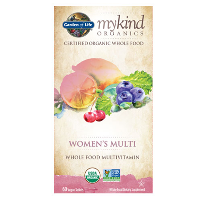 Picture of mykind Organics Women's Multi 60 Tabs by Garden of Life