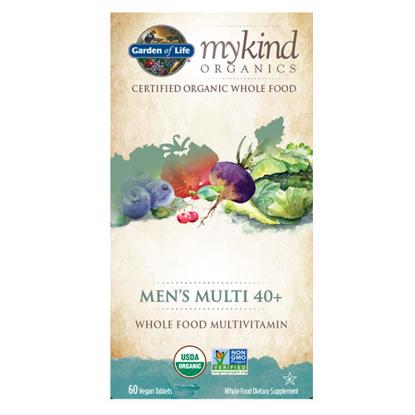 Picture of mykind Organics Men 40+ (60) Tabs by Garden of Life