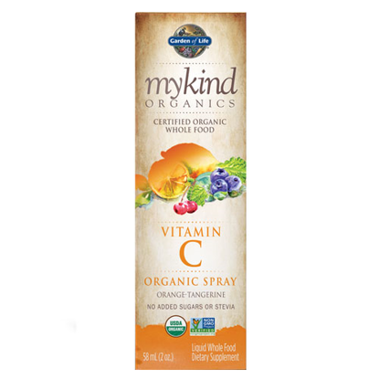 Picture of mykind Organics Vitamin C (Orng-Tang) 2 oz. Spray by GoL