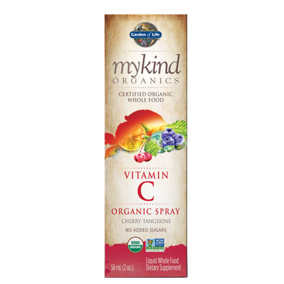 Picture of mykind Organics Vitamin C (Cherry-Tang) 2 oz. Spray by GoL