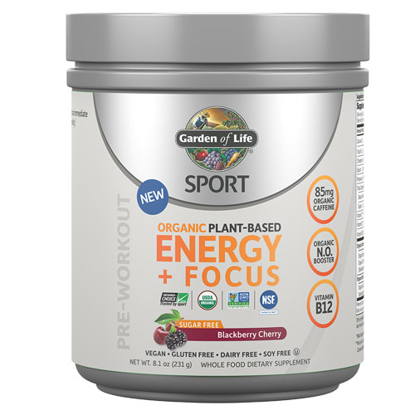 Picture of Sport Organic Energy & Focus (Blackberry-Cherry) 231g by GoL