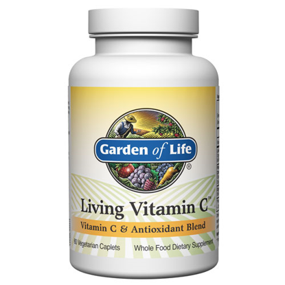 Picture of Living Vitamin C 60 Caplets by Garden of Life