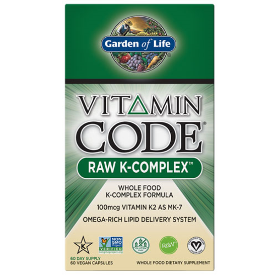 Picture of Vitamin Code Raw K Complex 60 Caps by Garden of Life