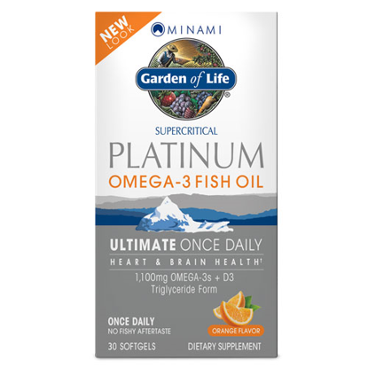 Picture of Minami Platinum (Ultimate Once Daily) 30 Softgels by GoL