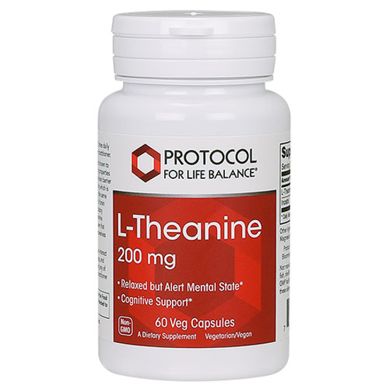 Picture of L-Theanine (200mg) 60 caps by Protocol
