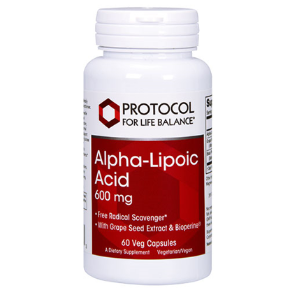 Picture of Alpha Lipoic Acid (600mg) 60 caps by Protocol