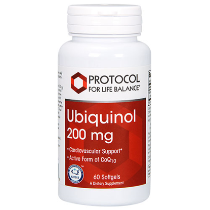 Picture of Ubiquinol (200mg) 60 softgels by Protocol