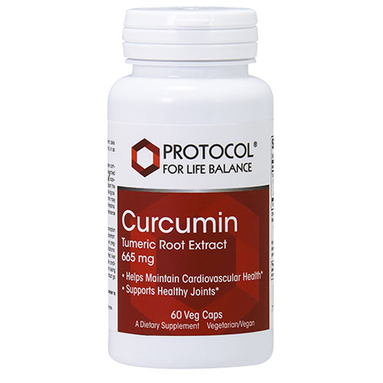 Picture of Curcumin Turmeric Root Extract (665mg) 60 caps by Protocol