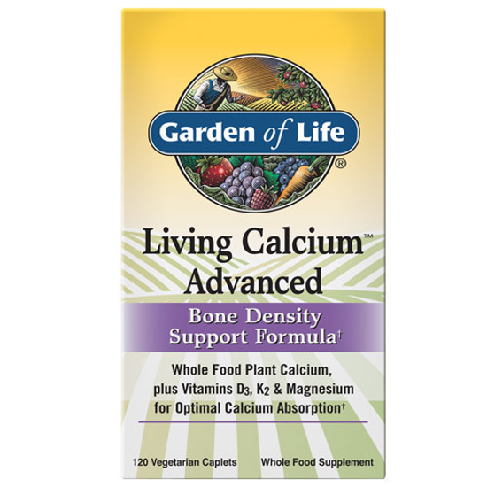 Picture of Living Calcium Advanced 120 Caps by Garden of Life