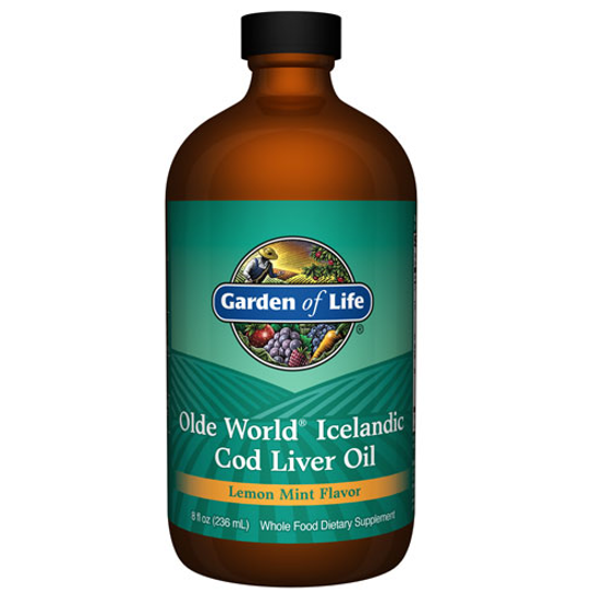 Picture of Olde World Icelandic Cod Liver Oil 8 oz. by Garden of Life