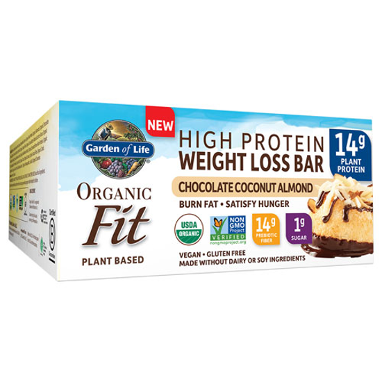 Picture of Organic Fit Weight Loss Bar (Choc. Coco. Alm.) 12ct by GoL