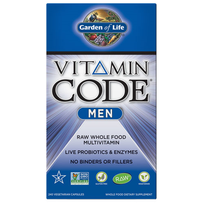 Picture of Vitamin Code Men 240 Capsules by Garden of Life
