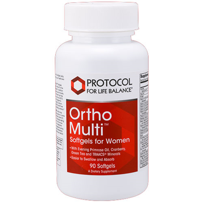 Picture of Ortho Multi for Women 90 Softgels by Protocol
