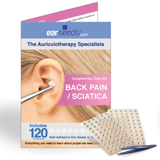 Picture of Back Pain / Sciatica Ear Seed Kit