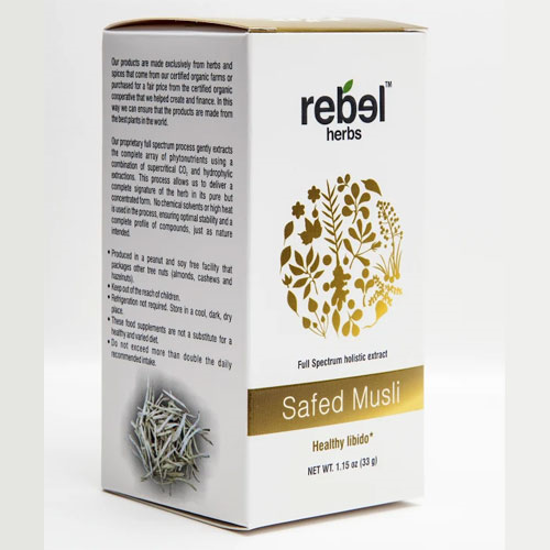 Picture of Safed Musli Extract Powder 33gm by Rebel Herbs