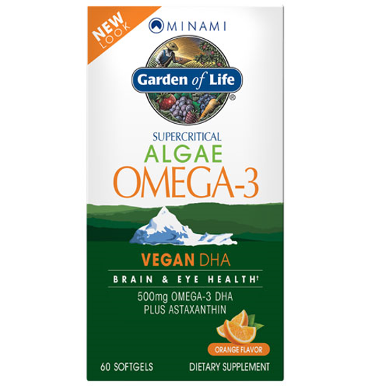 Picture of Minami Algae Omega-3 60 softgels by Garden of Life