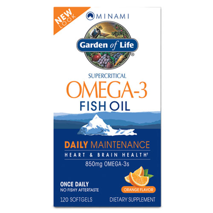 Picture of Minami Omega-3 (Orange) 120 softgels by Garden of Life