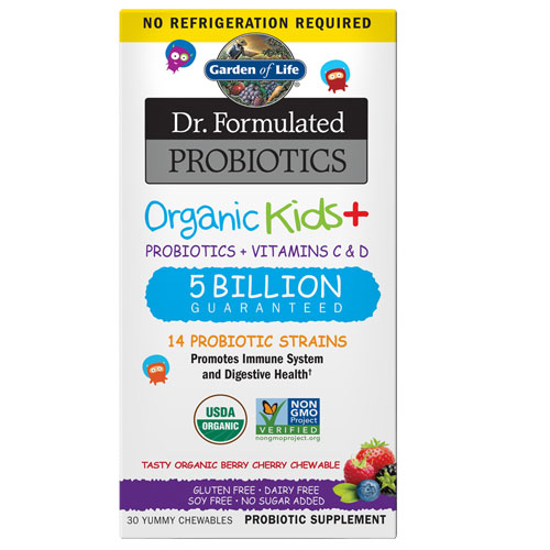 Picture of Dr. Formulated Probiotics Organic Kids (Berry Cherry) by GoL