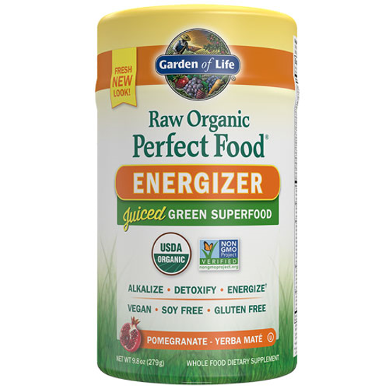 Picture of Raw Organic Perfect Food Energizer 279g by Garden of Life