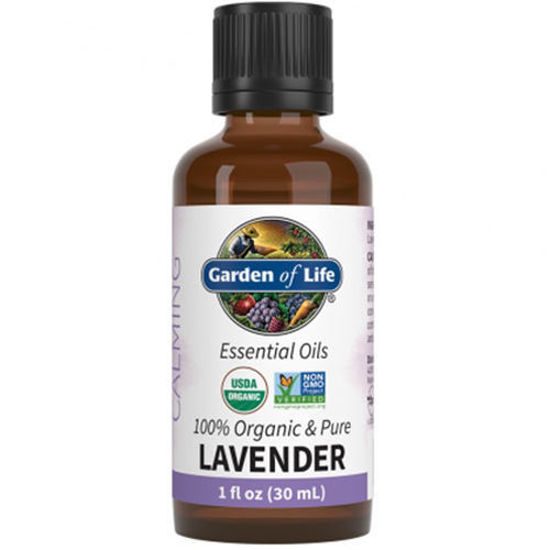 Picture of Organic Lavender Essential Oil 1 oz. by Garden of Life