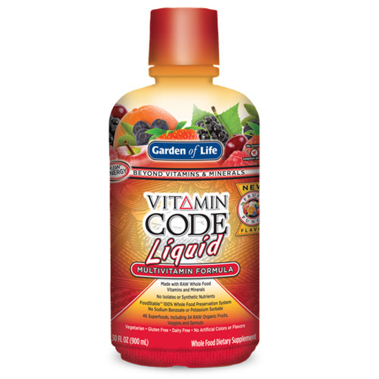 Picture of Vitamin Code Liquid Multi Formula (Fruit Punch) 30oz. by GoL