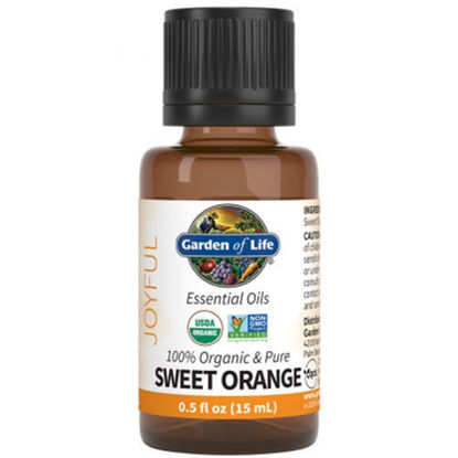 Picture of Organic Sweet Orange Essential Oil 0.5 oz. by Garden of Life