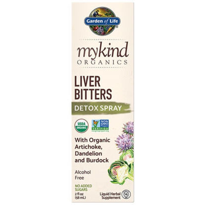Picture of mykind Organics Liver Bitters Detox 2 oz. Spray by GoL