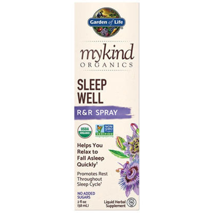 Picture of mykind Organics Sleep Well Spray 2 oz. by Garden of Life