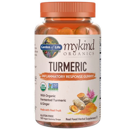 Picture of mykind Organics Turmeric Inflammatory Response 120 Gummies