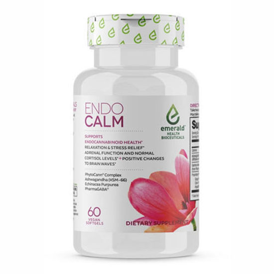 Picture of Endo Calm 60 caps by Emerald Health Bioceutical