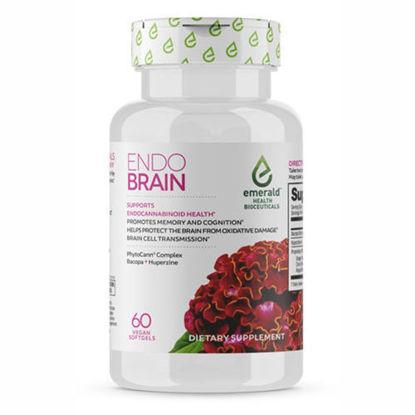 Picture of Endo Brain 60 caps by Emerald Health Bioceutical