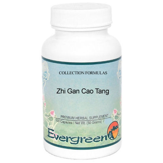 Picture of Zhi Gan Cao Tang Evergreen Capsules 100's