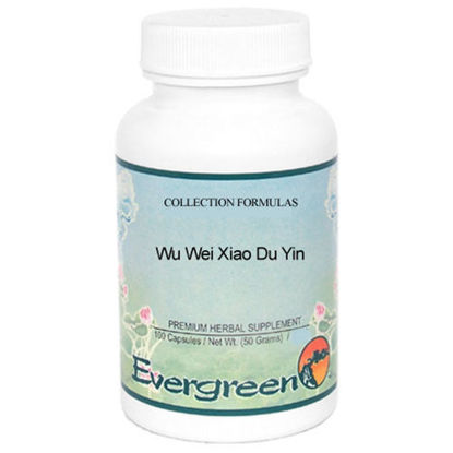 Picture of Wu Wei Xiao Du Yin Evergreen Capsules 100's