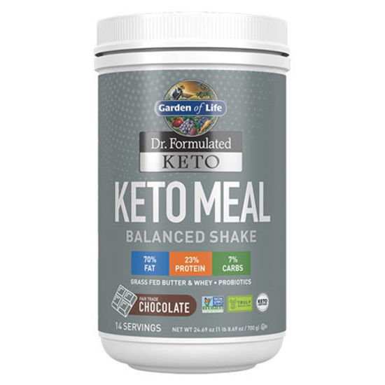 Picture of Dr. Formulated Keto Meal (Chocolate) 700g by Garden of Life