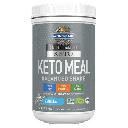 Picture of Dr. Formulated Keto Meal (Vanilla) 672g by Garden of Life