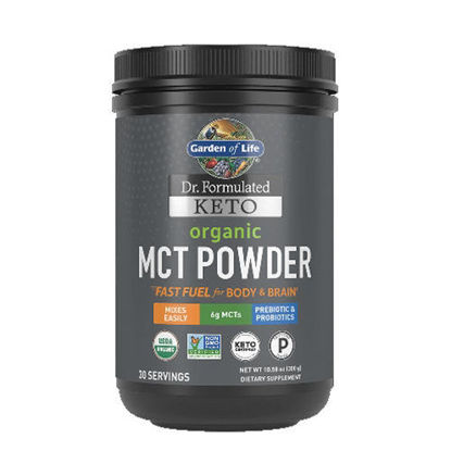 Picture of Dr. Formulated Keto Organic MCT Powder 300g, Garden of Life